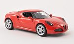 ALFA ROMEO 4C, red