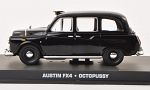 AUSTIN FX 4, taxi, black, James Bond 007