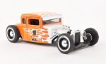 FORD Model a Hot Rod, No.1, orange/Decorated,  Harley-Davidson
