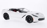 CHEVROLET Corvette Stingray Z51 (C7) , white