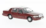 LINCOLN Town Car, dark red
