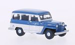 JEEP Willys Station Wagon, Bl/white