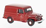JEEP Willys Panel Van, red