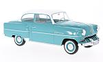 OPEL Olympia Rekord, turquoise/white