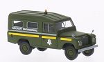 LAND ROVER 109 County Station Wagon, RAF aircraft engineering (GB), dunkeloliv