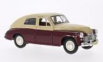 GAZ M20 Pobeda, dark red/beige