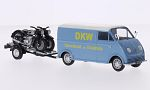 DKW fast delivery truck, DKW racing team and Ersatzteile