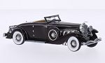 DUESENBERG SJN Convertible Coupe, dark red