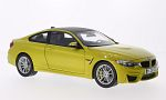 BMW M4 Coupe, metallic-yellow