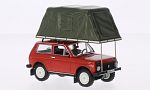 LADA Niva , metallic-red