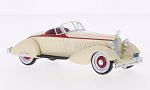 PACKARD V12 Le Baron Speedster, beige/red