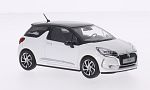 CITROEN DS 3, metallic-white/metallic-dark brown