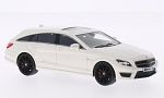 MERCEDES CLS63 Shooting Brake S-Model, white