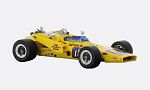 PJ Colt 71, No.15, Parnelli Jones racing, Samsonite, Indy 500