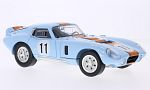SHELBY Cobra Daytona Coupe, light blue/dark orange, No.11