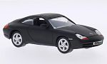 PORSCHE 911 (996) Carrera, matt-black
