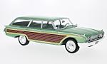 FORD Country Squire, metallic-light green/wood optics