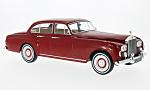 ROLLS ROYCE silver Cloud III Flying track H.J.Mulliner, dark red, RHD