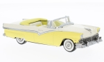 FORD Fairlane Convertible, yellow/beige