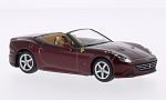 FERRARI California doors, metallic-dark red