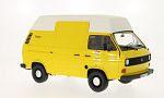VW T3 high roof box, yellow/matt-white, DBP - German Federal Postal Services