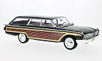 FORD Country Squire, black/wood optics