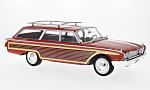 FORD Country Squire, red/wood optics