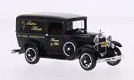 FORD Model A Livery, black, Sutton Florist