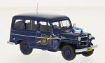 JEEP Willys Station Wagon, Michigan State Police