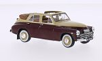 GAZ M20 Pobieda Convertible, beige/dark red