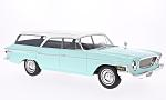 CHRYSLER Newport Town & Country Wagon, light turquois/white