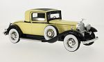 PACKARD 902 Standard Eight Coupe, light yellow/black