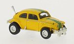 VW Baja Bug, yellow/green