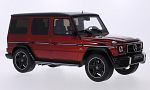 MERCEDES G63 AMG Crazy Color Edition, metallic-red/black