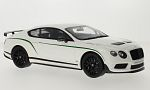 BENTLEY Continental GT 3-wheels, white/Decorated