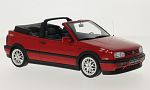 VW Golf III Convertible sport Edition, red