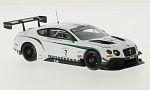 BENTLEY GT3, RHD, No.7, Blancpain Endurance series, Nurburgring