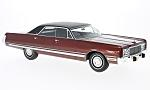 CHRYSLER New Yorker Brougham, metallic-dark red/black