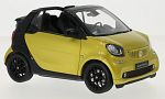 SMART fortwo Convertible (A453), metallic-yellow/black