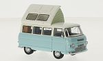 COMMER Dormobile Coaster, light blue/white