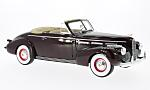LASALLE series 50 Convertible Coupe, dark red