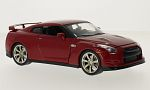 NISSAN GT-R (R35), red