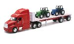 PETERBILT 387 Flatbed, red/white