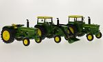JOHN DEERE 3rd-Set: 3120, with cabin and with front loader