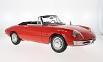 ALFA ROMEO 1600 duet Spider, red