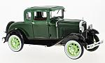 FORD Model a Coupe, green