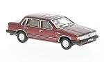 VOLVO 760, metallic-red, RHD