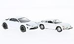 ALPINE RENAULT 2er -Set, A110 (1973) and Vision (2016), white