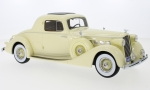 PACKARD super Eight Coupe, light yellow