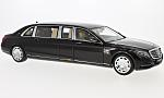 MERCEDES Maybach Southern-KlaSouthernSoutherne (S600) Pullman, metallic-dark red